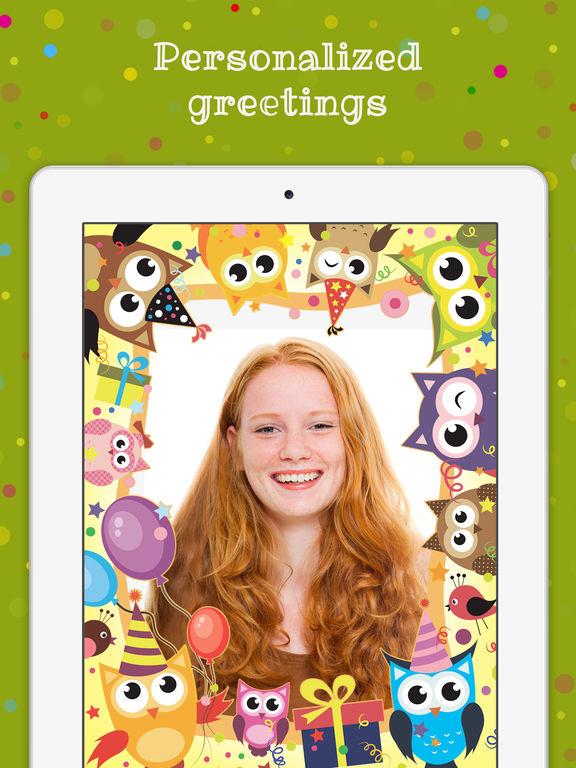 App Shopper Birthday Cards Free Happy Photo Frame Gift Invitation Maker Photography
