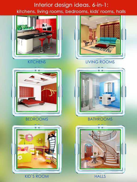 Take A Picture Of A Room And Design It App: New Design Ideas. Interior 6-in-1 Screenshot