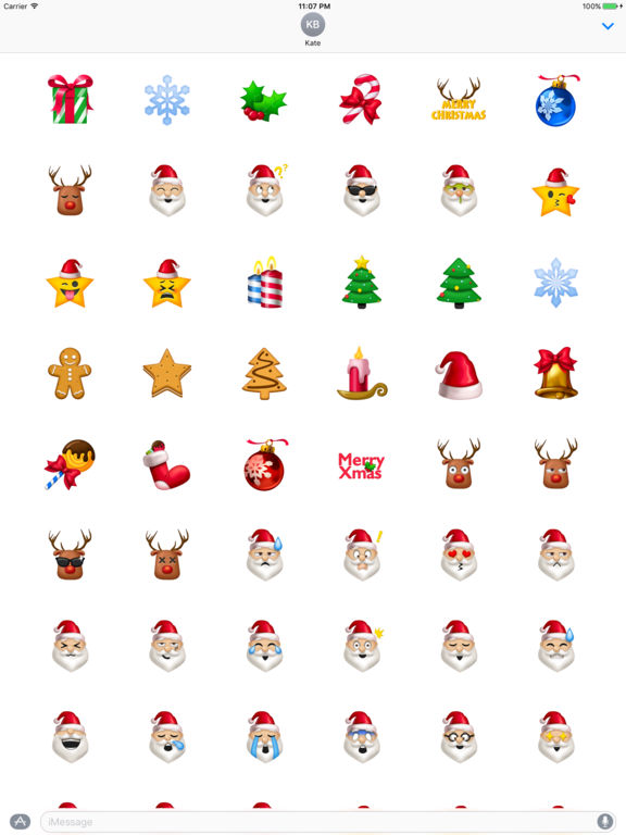 free holiday emoticons for iphone